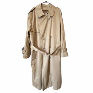 LONDON FOG Like New Beige Trenchcoat